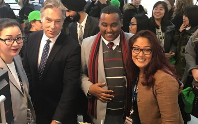 Humber College Students invited onboard Ethiopian Airlines