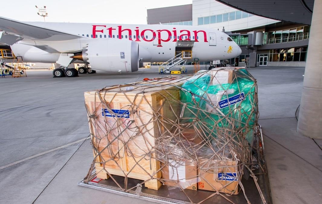 Ethiopian Airlines, Boeing and Non-Profit Organizations Join Together for Humanitarian Flight