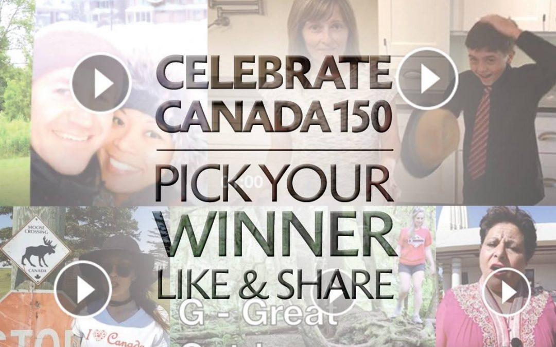 Top 5 finalists selected for Canada150 contest