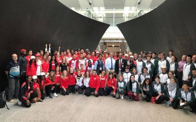 Ethiopian Airlines welcomes Canadian Francophonie athletes