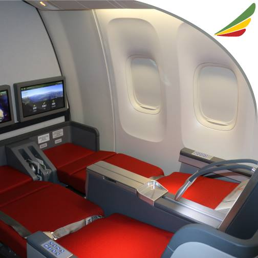 Ethiopian Retrofitted Its B767-300 Fleet with Flat Bed Seats and WIFI IFE