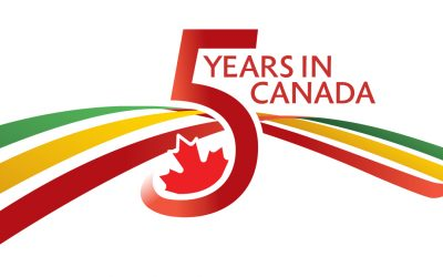 Ethiopian Celebrating 5 years in Canada