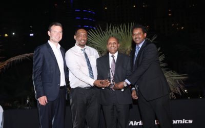 Ethiopian Voted 2017 Middle East and Africa Airline of the Year by Airline Economics Magazine