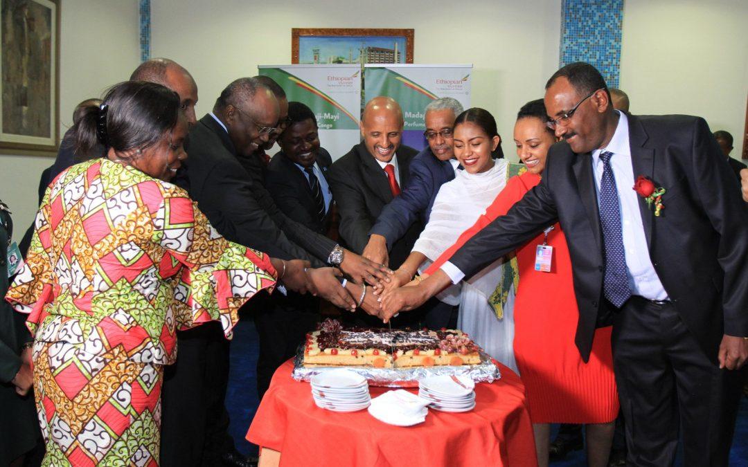 Kisangani, Mbuji Mayi and Nosy-Be Joined Ethiopian Global Network