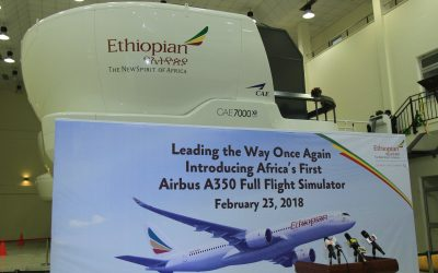 Ethiopian Becomes Africa's First A350 Full-Flight Simulator Operator