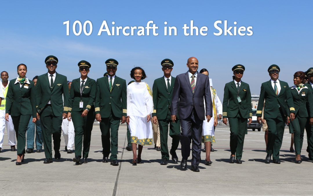 Ethiopian Marks African Aviation History with 100th Aircraft in Active Service