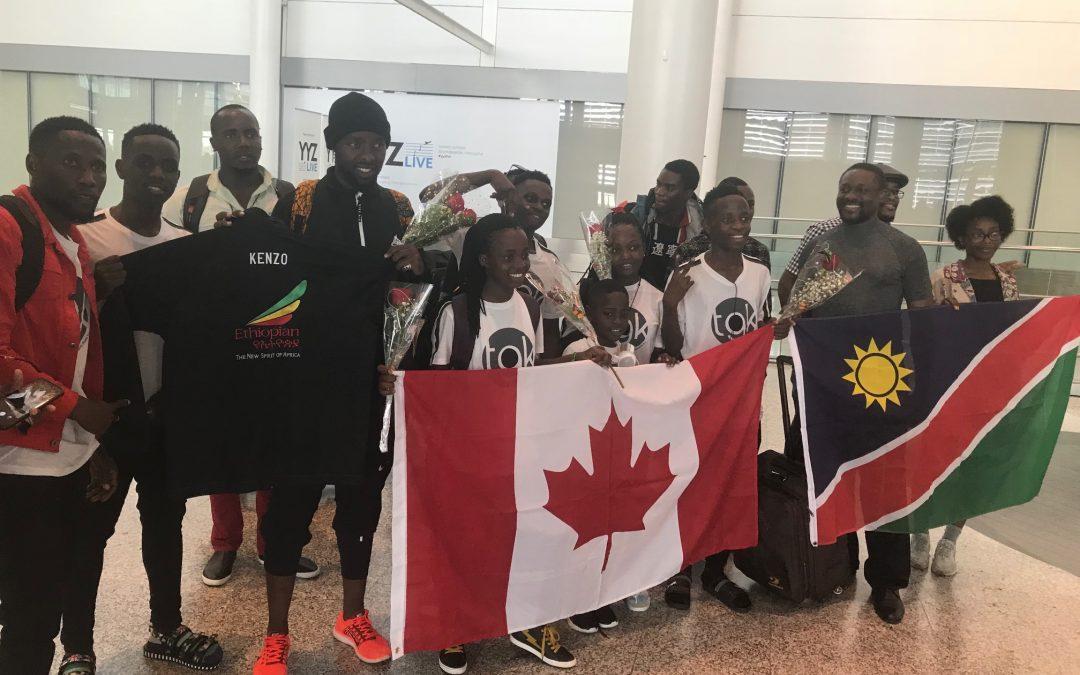 Eddy Kenzo and the Ghetto Kids love Canada
