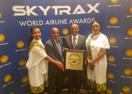 Ethiopian Wins SKYTRAX Best Airline in Africa Award for 2nd Time