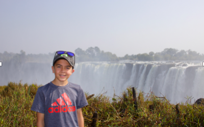 Contest winner shares his exciting trip to Africa