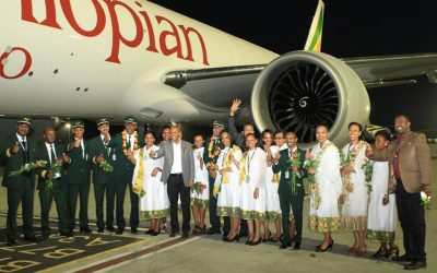 Ethiopian Takes Delivery of its 8th Freighter