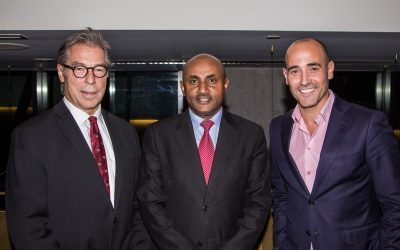 Ethiopian Airlines Canada teams up with celebrity chef David Rocco
