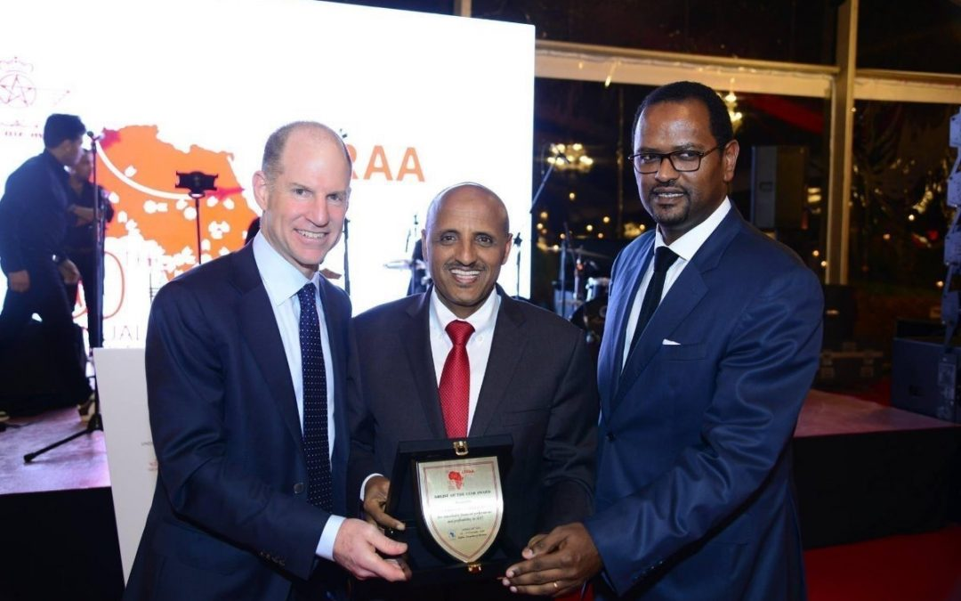 Best Airline in Africa by African Airlines Association