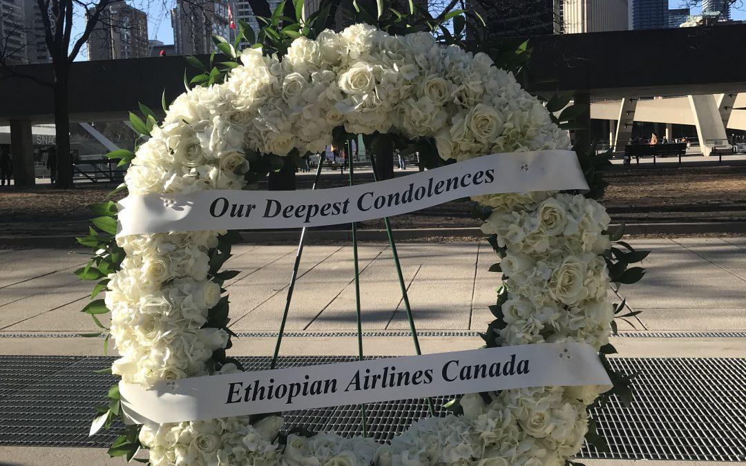 Vigil at Nathan Phillips Square Toronto