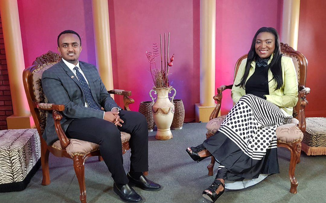 Samson Arega interview on AfroGlobal Television